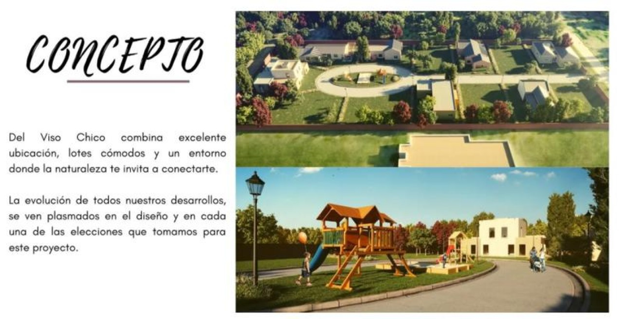 ULTIMO LOTE DISPONIBLE EN DEL VISO CHICO (BARRIO CERRADO)